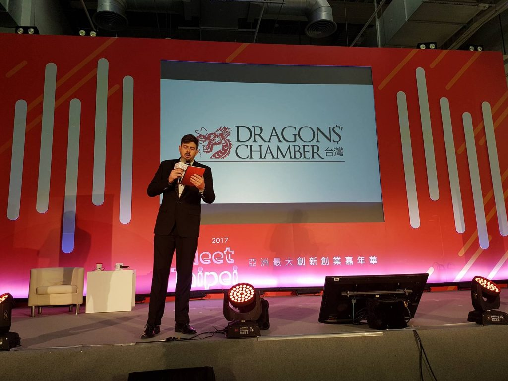 Brandon Thompson is the great host for Dragons' Chamber