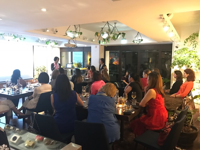 A night full of inspiration-Taipei Women Entrepreneurship Day Dinner