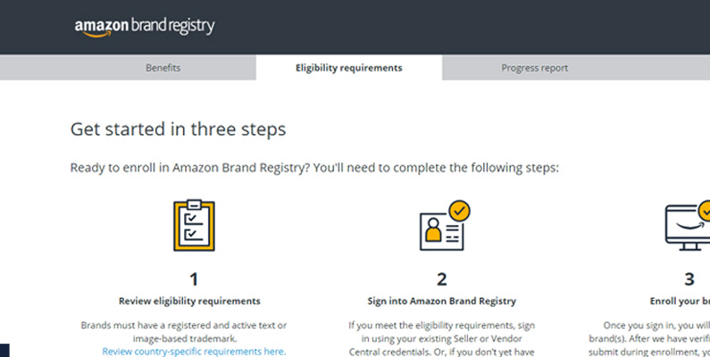 what is brand registry on amazon