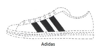 Adidas famous three stripes still lost a trademark battle.