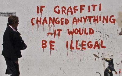 Graffiti artist Banksy opens shop purely to battle for his trademark