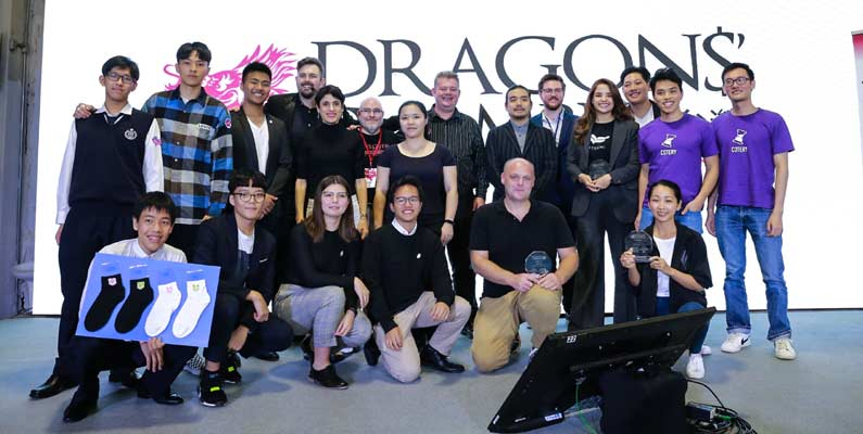 Dragons' Chamber 2019 – Taiwan foreign entrepreneur pitch event recap