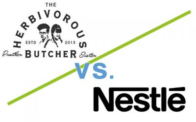 Veggie 'Butcher' takes on Nestle in Trademark Battle