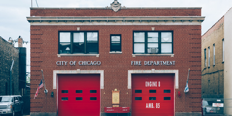 Chicago Fire Station by Andrew Seaman
